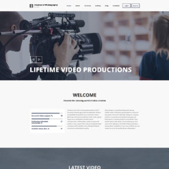 Photo Studio Responsive Drupal Template