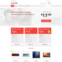 Hosting Responsive VirtueMart Template
