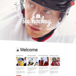 Hockey Responsive WordPress Theme