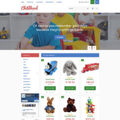 Toy Store Responsive OpenCart Template