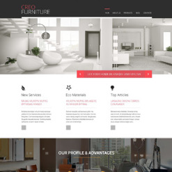 Furniture PSD Template
