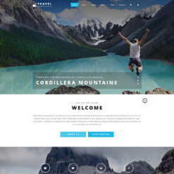 Travel Agency PSD Template