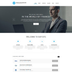Job Portal Drupal Template