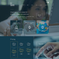 ISP Joomla Template