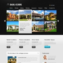 Real Estate PSD Template