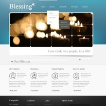 Christian PSD Template