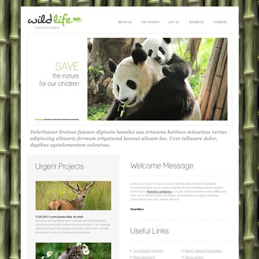 Animal Shelter PSD Template