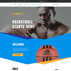 Basketball Shopify Theme