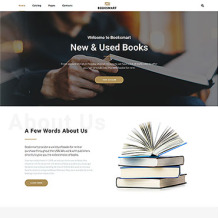 Book Store Responsive Website Template