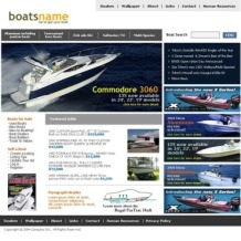 Yachting SWiSH Template