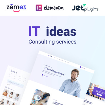 theme WordPress IT Consulting