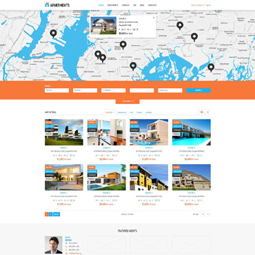 theme WordPress Agence de Location